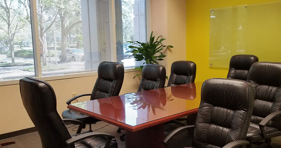 Photo of the My Executive Center conference room