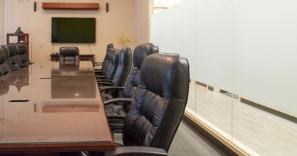 Photo of the My Executive Center board room